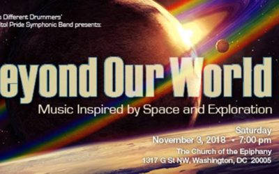 Capitol Pride Symphonic Band Fall Concert 2018